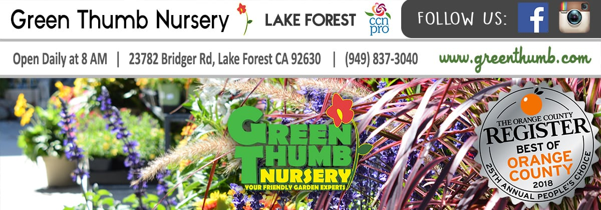 Green Thumb Nursery Lake Forest